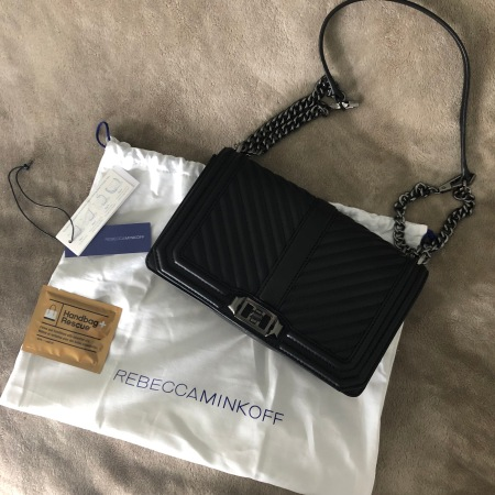 genuine shoes big discount amazon Handbag Reveal: Rebecca Minkoff Love Crossbody – Always Samantha